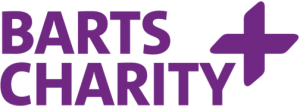 Barts Charity logo in purple