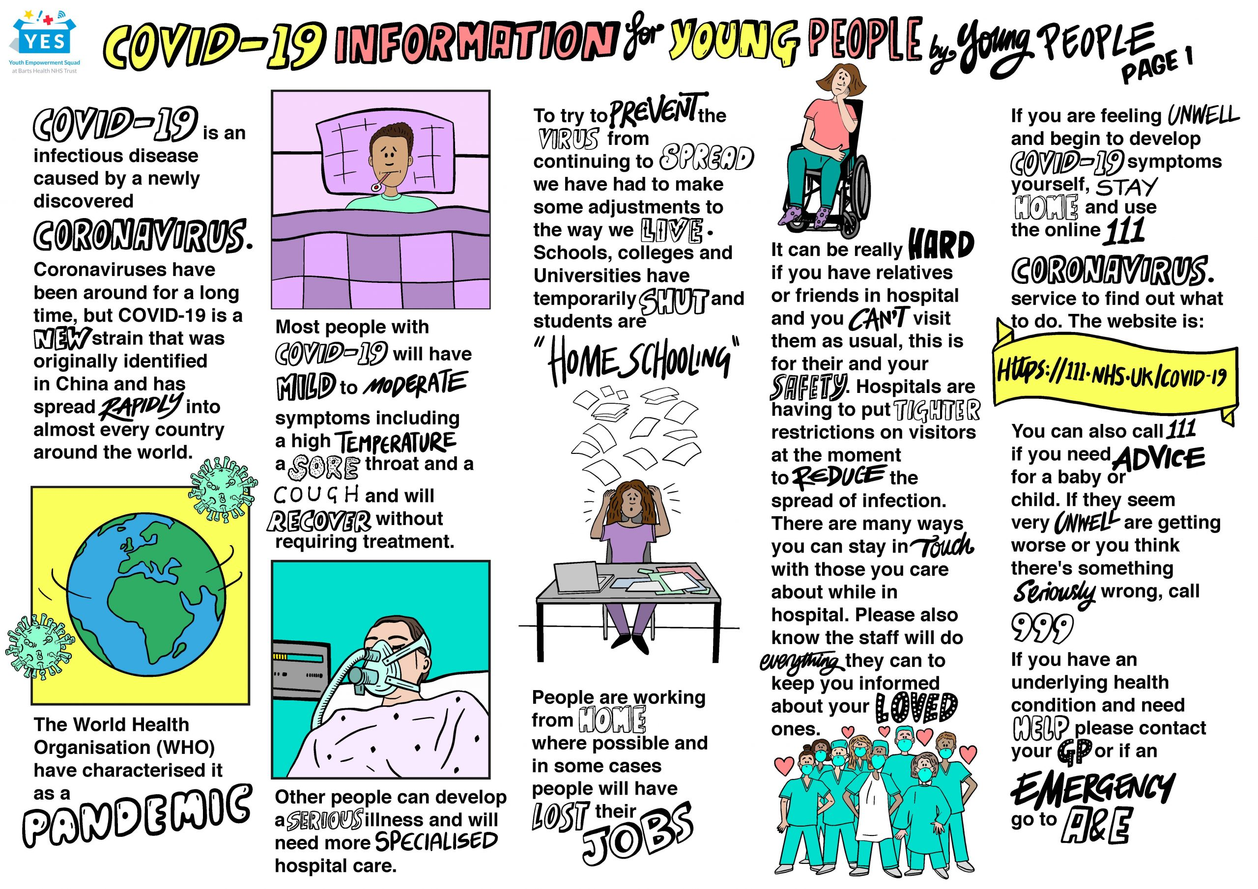 Picture of the leaflet for young people