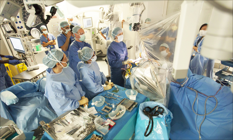 Modus V exoscope awake brain surgery