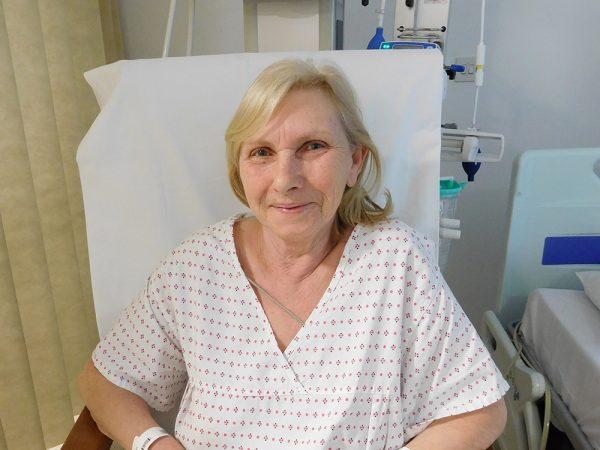 Barts Hospital patient Anna