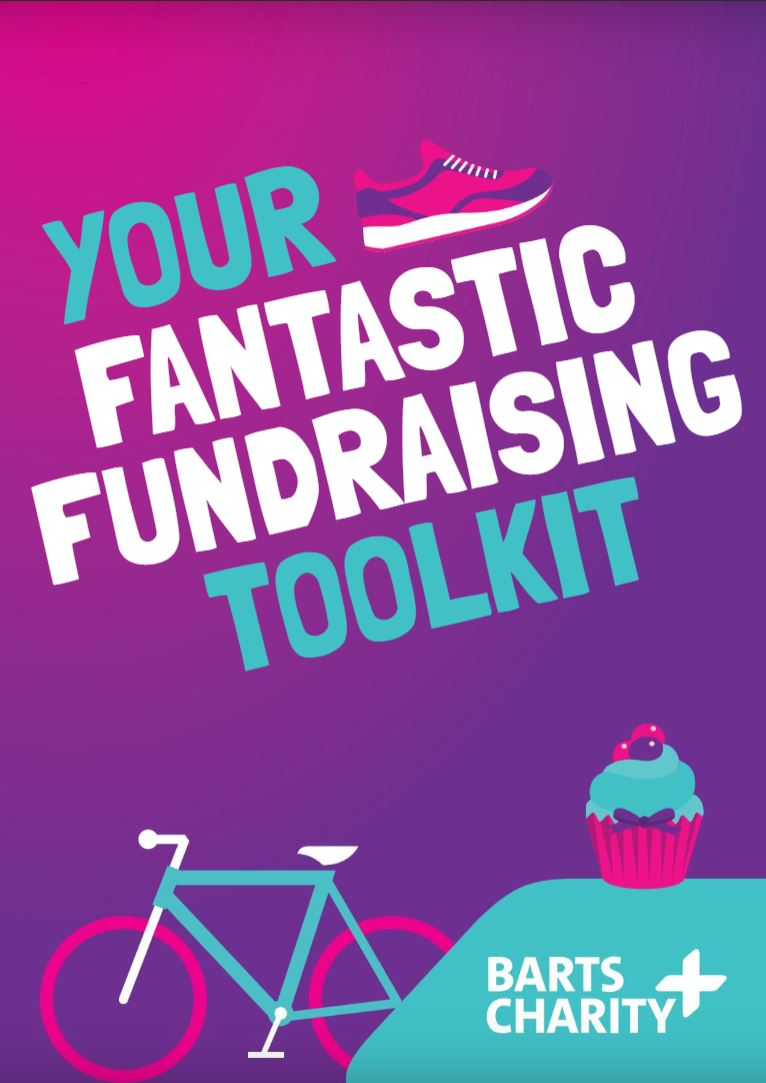 Barts Charity fundraising toolkit