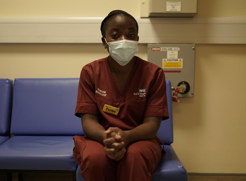 Funke Bella Newham Hospital