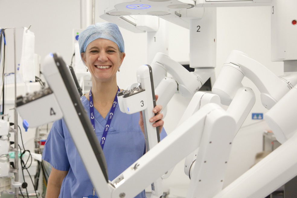 Robotic surgery at The Royal London Hospital