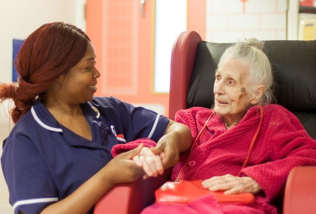 Older peoples ward at Newham Hospital