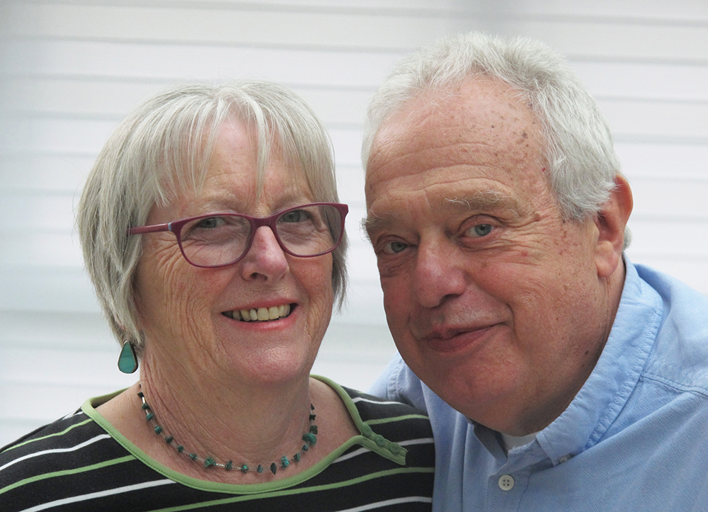 Fundraisers celebrate 50 years of marriage with donations to Barts Charity