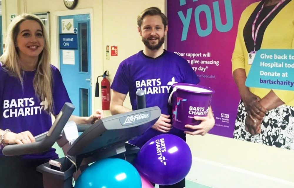 Mile End fundraises start a cyclethon