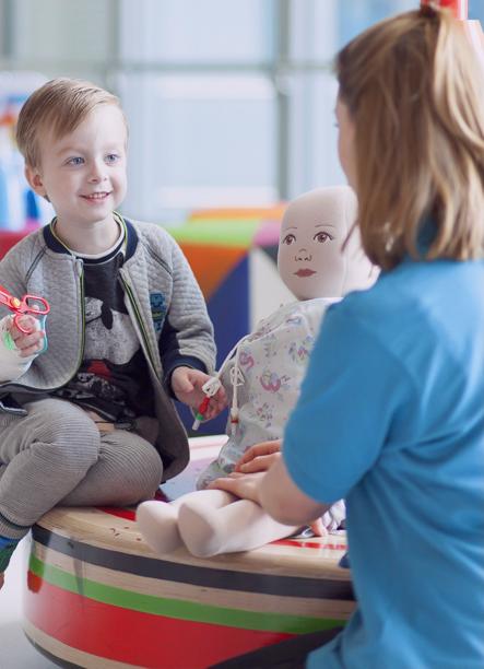 Childrens play team royal london hospital