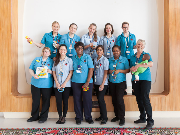 Children's Play team at the Royal London Hospital