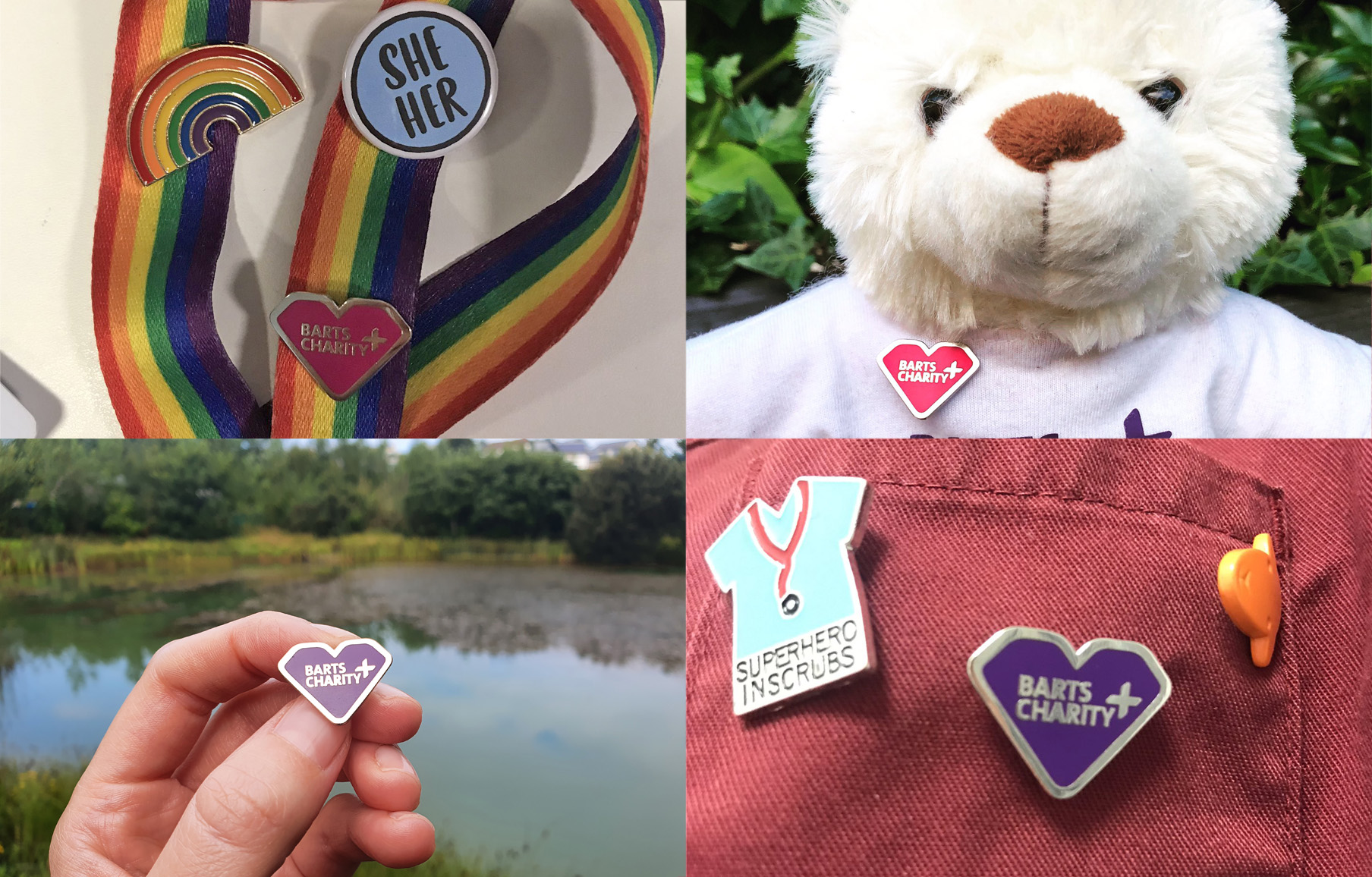 barts charity badge competition